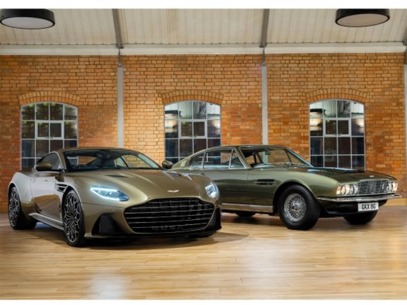 Aston Martin DBS als James Bond Edition