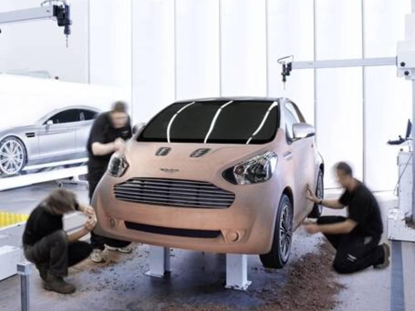 Aston Martin Baut Stadtauto Auf Basis Des Toyota Iq Auto Motor At