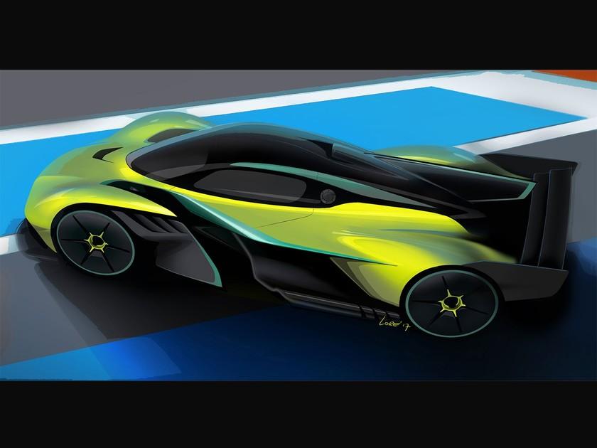 Aston Martin Valkyrie Kommt 2020 Auto Motor At