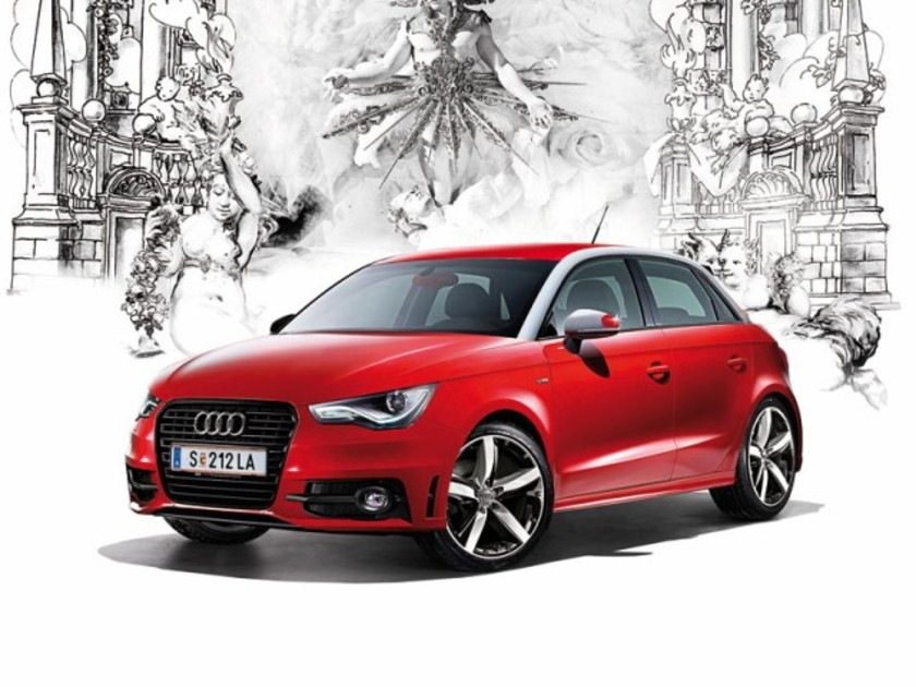 Sondermodell audi a1 life ball red ribbon edition 001