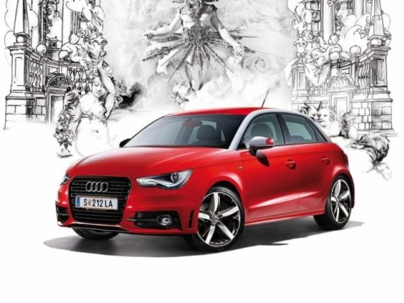 Sondermodell: Audi A1 Life Ball Red Ribbon Edition