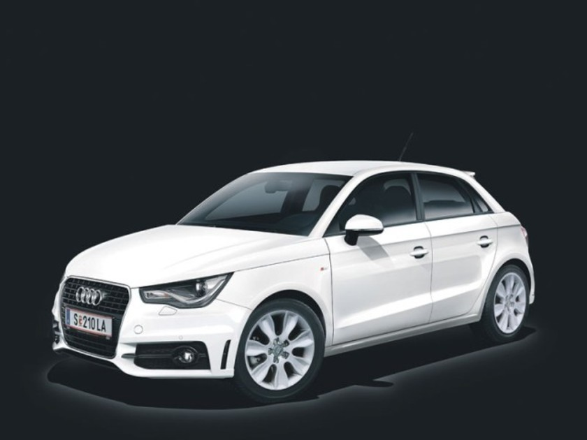 audi a1 sportback beauty beast sondermodell auto. Black Bedroom Furniture Sets. Home Design Ideas