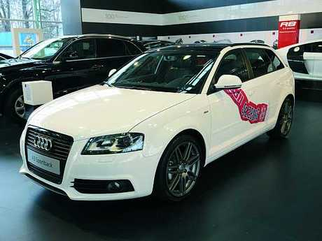 Audi a3 red bull fan edition 1