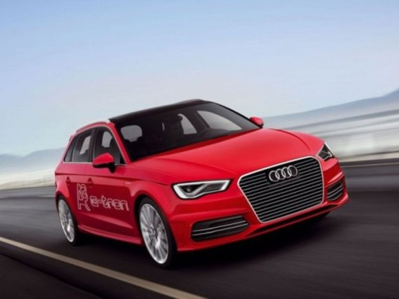 Audi zeigt A3 e-tron in Genf