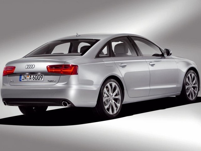 der neue audi a6 hybrid auto. Black Bedroom Furniture Sets. Home Design Ideas