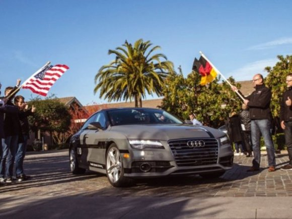Audi A7 piloted driving concept im Langstrecken-Test