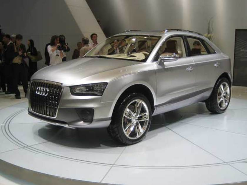 Audi cross coupe studie vorne