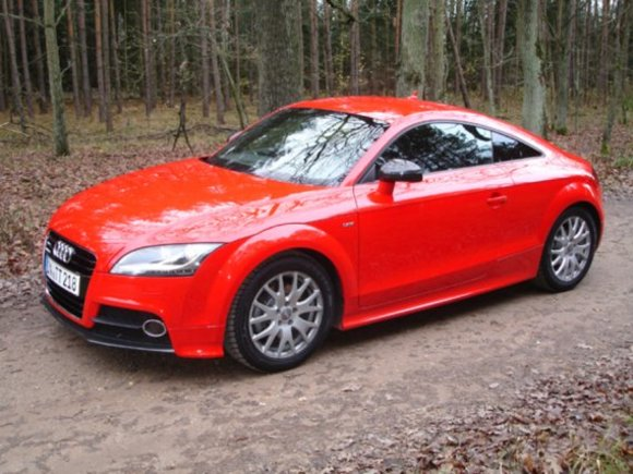 Audi TT Coupe Test