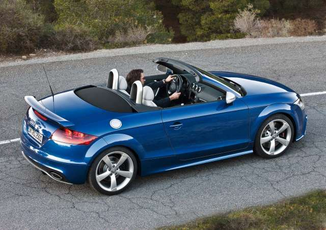 Audi tt rs roadster 2009 seite