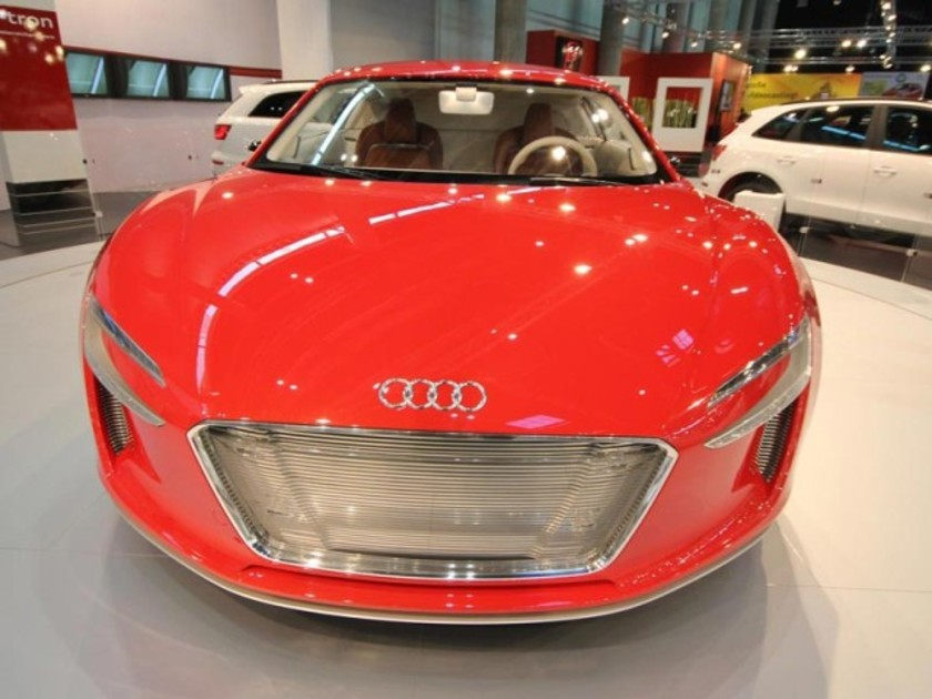 Auto 2011: Audi Messe-Stand