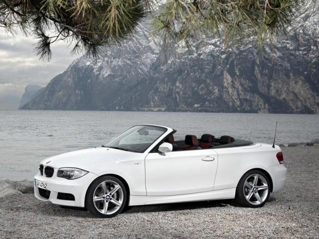 foto facelift fuer bmw 1er cabrio coupe vom. Black Bedroom Furniture Sets. Home Design Ideas