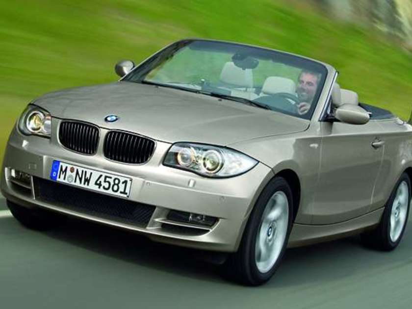 bmw 1er cabrio weltpremiere 2008 in detroit auto. Black Bedroom Furniture Sets. Home Design Ideas