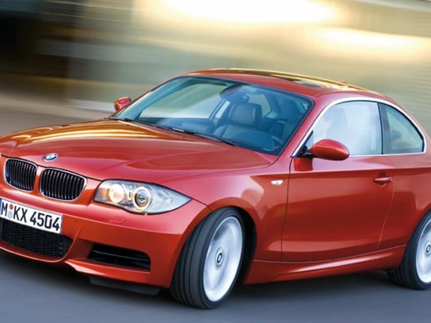 bmw 1er coupe gewinnt goldenes lenkrad 2008 auto. Black Bedroom Furniture Sets. Home Design Ideas