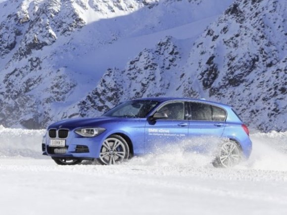 BMW 1er im Winter-Test