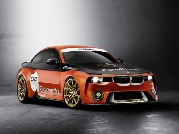 BMW 2002 Hommage in Pebble Beach