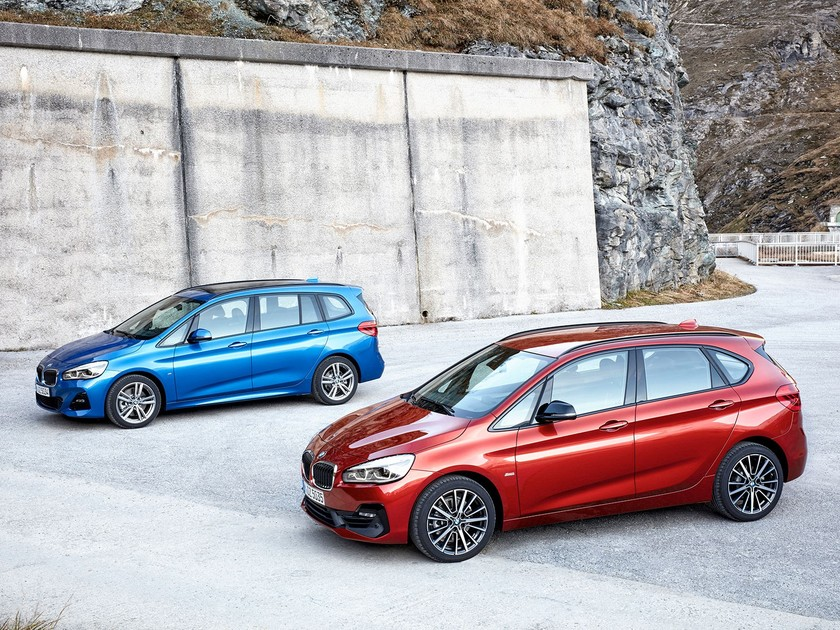 Facelift fuer bmw 2er active tourer gran tourer 001