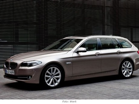 BMW 5er Touring - Weltpremiere