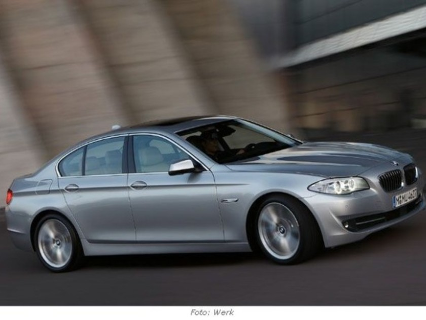 Die neue bmw 5er reihe modell 2010 auto motorat for Cafissimo neues modell