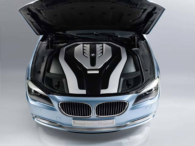 Bmw concept 7 series activehybrid motor