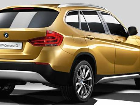 Bmw concept x1 heck