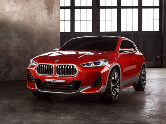 BMW zeigt Concept X2 in Paris