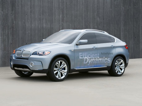 Bmw x6 activehybrid detroit 2009