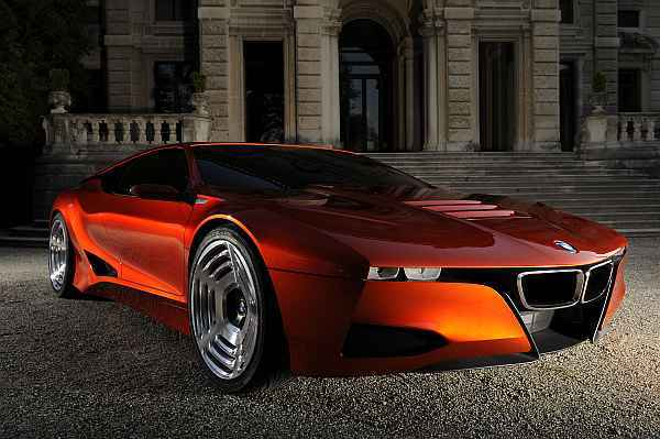 Bmw m1 hommage front