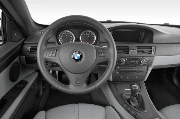 Bmw m3 coupe cockpit