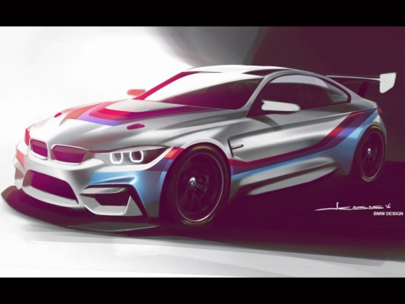 Der BMW M4 GT4 ab 2018 an den Start