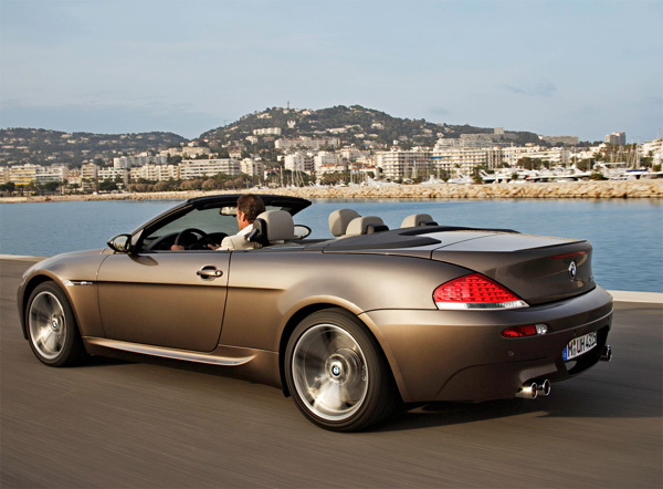 Bmw m6 cabrio paris