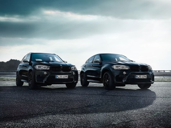 BMW X5 M und X6 M Black Fire Edition