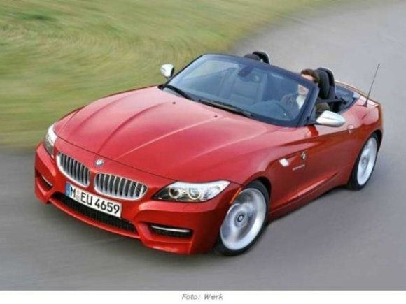Top-Version des BMW Z4: sDrive 35is