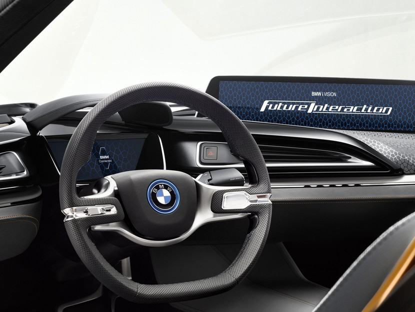 Ces 2016 bmw zeigt i vision future interaction 002