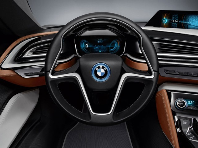 foto neu bmw i8 concept spyder vom artikel cabrio. Black Bedroom Furniture Sets. Home Design Ideas