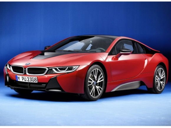 Sondermodell: BMW i8 Protonic Red Edition