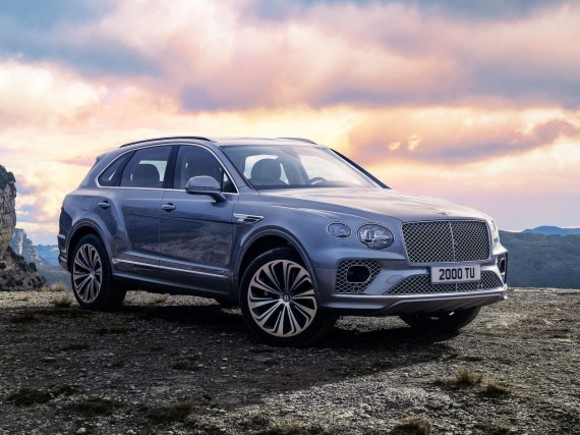 Facelift für den Bentley Bentayga
