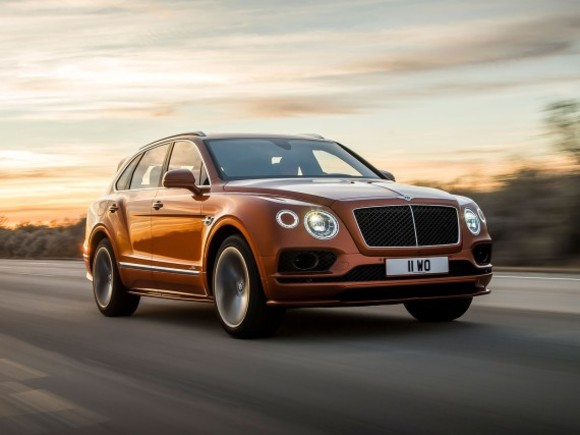 Bentley präsentiert Bentayga Speed