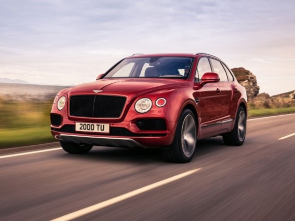 Neu: Bentley Bentayga V8