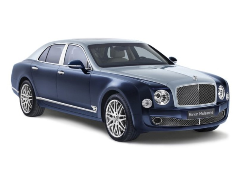 Limited edition bentley birkin mulsanne 001
