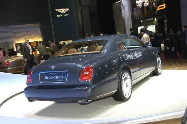 Bentley brooklands coupe hinten