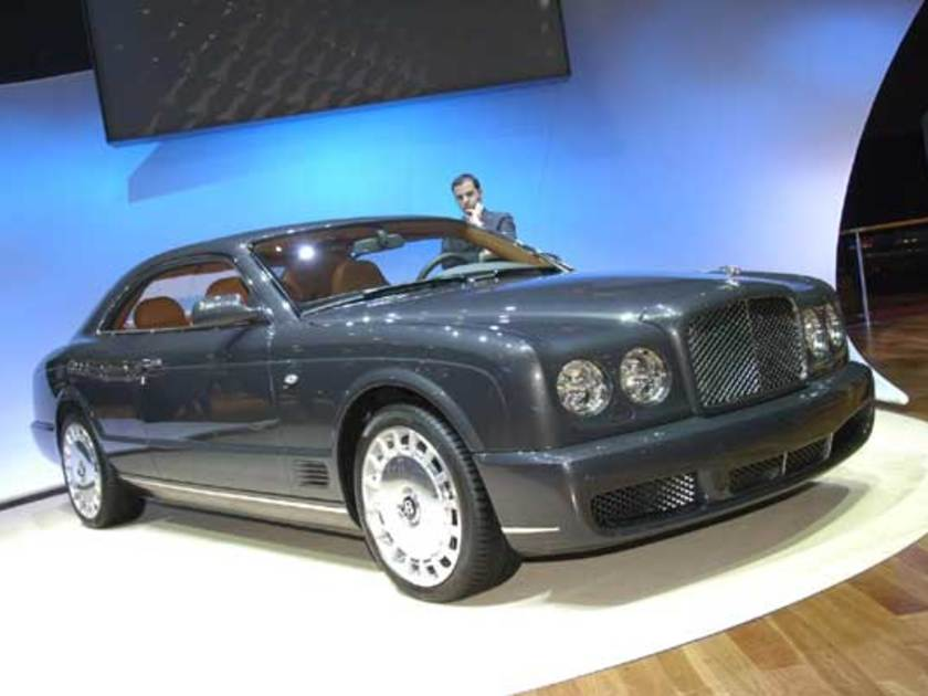 Bentley brooklands coupe vorne