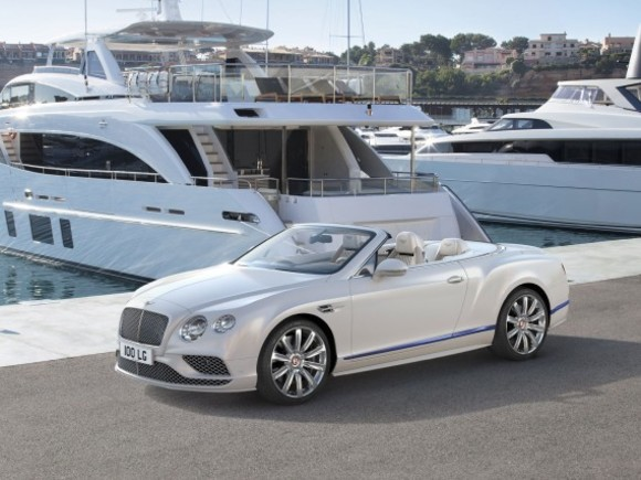 Sonderedition des Bentley Continental GT Convertible