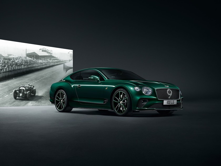 Bentley continental gt number 9 edition 001