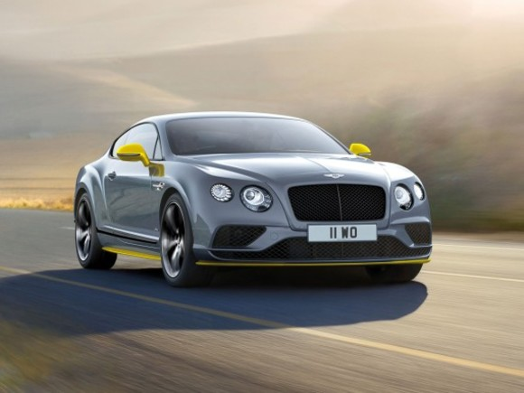 Neu: Bentley Continental GT Speed Black Edition