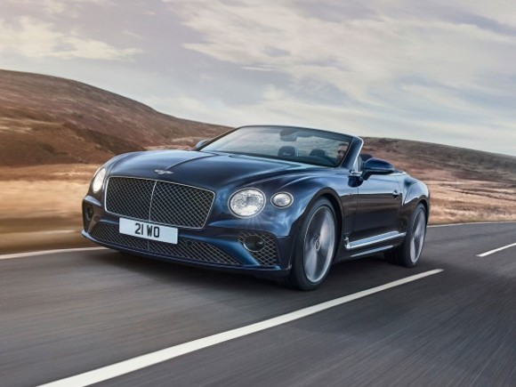Premiere für das Bentley Continental GT Speed Cabrio