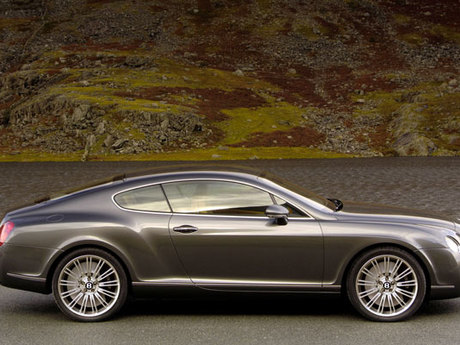 Bentley continental gt speed coupe innen