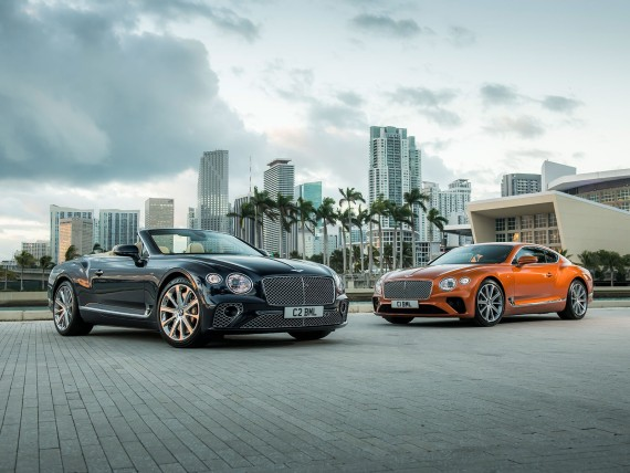 Der neue Bentley Continental GT V8; Bildquelle: Bentley