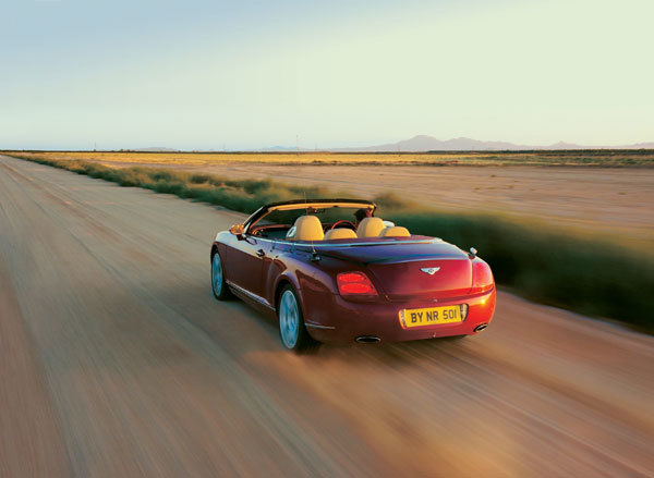 Bentley continental gtc hinten