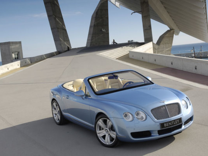 Bentley continental gtc vorne
