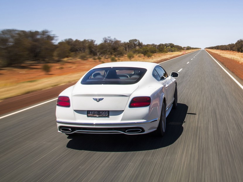 Bentley continental speed outback von australien 002